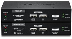 Переключатель TRENDNET TK-EX4, USB KVM Extension Kit..