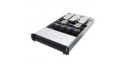 "Серверная платформа Asus RS720A-E9-RS24-E 2U, Socket SP3 AMD Epyc 7000 Series, KNPP-D32, 32GB max, 24HDD 2,5"""" Hot-swap, 800W+1200W, CPU FAN (90SF00A1-M00010)"
