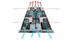 Серверная платформа Gigabyte G190-H44 1U HPC 4x GPU (NVIDIA® validated GPU platf..