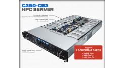 Серверная платформа Gigabyte G250-G52 2U HPC Server - 8 x GPGPU Card Slots 2x E5..