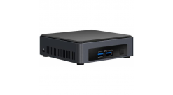 Платформа Intel NUC 7th Gen, Core i3-7100U DC 2.40GHz, 2x DDR4 1.2V SODIMM, NVMe..