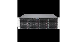 Серверная платформа Supermicro SSG-6038R-E1CR16L 3U 2xLGA2011 Intel C612 Chipset..