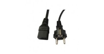 Power Cable. REGION: Europe. - Spare. Type C, CEE (7) VII (Europlug 2.5A/250V unearthed)