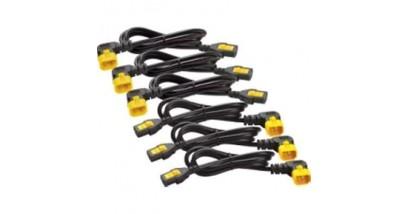 Power Cord Kit (6 pack), Locking, C13 to C14 (90 Degree), 1.8m
