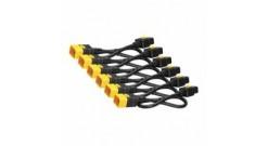 Power Cord Kit (6 pack), Locking, IEC 320 C19 to IEC 320 C20, 16A, 208/230V, 1,8m