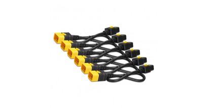 Power Cord Kit (6 pack), Locking, IEC 320 C19 to IEC 320 C20, 16A, 208/230V, 1.2m