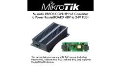 Преобразователь PoE питания Mikrotik 48 to 24V Gigabit PoE Converter (RBGPOE-CON..