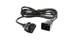 Pwr Cord, 10A, 100-230V, C13 to C20