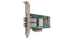 Адаптер Dell 406-10695 QLogic QLE2562, Dual Port, 8Gbps Fibre Channel PCIe HBA C..