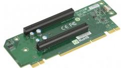 Карта расширения Supermicro RSC-W2-66 Riser Card 2U, (2 PCI-Ex16), Left Slot (WIO) Passive