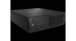 Рабочая станция HP Z2 G4 SFF, E-2136, 16GB (2x8GB) DDR4-2666 ECC, 256 SSD, DVD-O..