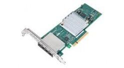 Контроллер Adaptec HBA 1000-16e SGL, 16 внешних портов, PCI-Ex8, 12GB/s, 4 x mini SAS HD (SFF-8643) external, низкопрофильный форм-фактор MD2 (2288200-R)