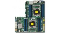 Материнская плата Supermicro MBD-X10DRW-E-O, Dual SKT, Intel C612 chipset, 16 DIMM slots, 10 x SATA3, 2 x 1GbE, IPMI, 1 x PCI-E3.0 x32 slot,WIO - Retail