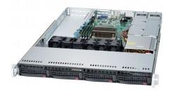 """Серверная платформа Supermicro SYS-5019S-WR 1U LGA1151 iC236, 4xDDR4 ECC, 4x3.5"""""""" bays, 2x1GbE, IPMI, 3xPCI-E 2x500W"""