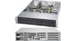 Серверная платформа Supermicro SYS-6028R-TDWNR 2U LGA2011 C612, 1xPCI-E, SVGA, SATA RAID, 8xHS SAS/SATA, 2xGbLAN, 16DDR4 2*920W