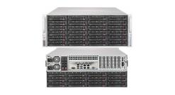 Серверная платформа Supermicro SSG-6049P-E1CR36L 4U 2xLGA3647 no DIMM(16)/ 3008RAID HDD(36)LFF/ 2x10Gbe/ 5xFH/ 2x1200W