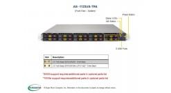 Серверная платформа Supermicro AS-1123US-TR4 1U 2xSocket SP3 AMD EPYC 10 hot-swa..