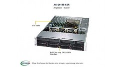 Серверная платформа Supermicro AS-2013S-C0R 2U 1xSocket SP3 AMD EPYC, 8xDDR4, 8x..