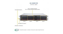 "Серверная платформа Supermicro AS-2123BT-HTR 2U (4-nodes) 2xSocket SP3 AMD EPIC 16xDDR4, 6x2.5"""" bays, SIOM,IPMI 2x2200W (Complete Only)"