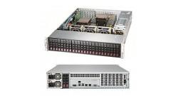 Серверная платформа Supermicro SSG-2029P-E1CR24L 2U 2xLGA3647 Intel C624 chipset, Up to 2TB DDR4 ECC 2666Mhz , Broadcom 3008 SAS3 AOC, 24 Hot-swap 2.5in drive bays, Dual 10GBase-T LAN, 2x1200W
