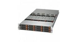 Сервер Supermicro SSG-6028R-E1CR24L(x1)X10DSC+, 826STS-R1K62P1, P4X-DPE52630V4-SR2R7(x2), MEM-DR432L-CL02-ER24(x4), HDD-T10T-HUH721010ALN604(x12), AOC-S25G-M2S-O(x1), SFT-DCMS-SINGLE(x1), CBL-0279L(x2), HDS-2TD-SSDSC2BB150G7(x2), AOC-MH25G-