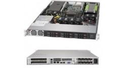Серверная платформа Supermicro SYS-1019GP-TT 1U 1xLGA3647 C621,USB 3.0,3xRJ45,1x..