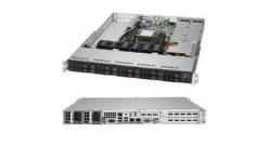"Серверная платформа Supermicro SYS-1019P-WTR 1U 1xLGA3647 Intel C622 / SATA 3.0 /1xPCI-Express 3.0 8x /2xPCI-Express 3.0 16x/DDR4 2666 RDIMM, 10x2.5"""" SATA Hot-swap 2x500W"