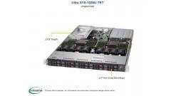 "Серверная платформа Supermicro SYS-1029U-TRT 1U 2xLGA3647 Up to 3TB ECC 3DS LRDIMM or RDIMM, 10 Hot-swap 2.5"""" Drive Bays SATA, 2x750W (Complete Only)"