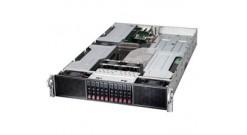 "Серверная платформа Supermicro SYS-2028GR-TRT 2U (Up to 4 NVIDIA GPU) 2xLGA2011 iC612, 16xDDR4, 10x2.5"""" HDD, 2xGbE, IPMI, 2x2000W"