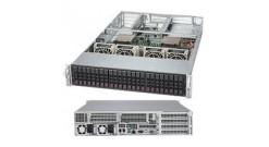"""Серверная платформа Supermicro SYS-2028U-TRT+ 2U 2xLGA2011 24xDDR4, 24x2.5""""""""HDD, 2x10GbE, IPMI 2x1000W (Complete Only)"""