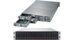 """Серверная платформа Supermicro SYS-2029TP-HTR 2U (4 Nodes) 2xLGA3647 16xDDR4, 6x2.5"""""""" bays, SATA, SIOM, IPMI 2x2200W"""