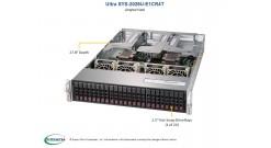 "Серверная платформа Supermicro SYS-2029U-E1CR4T 2U LGA3647 Up to 3TB ECC 3DS LRDIMM or RDIMM, 24 Hot-swap 2.5"""" drive bays, 24 SAS3 via opt. AOC, 2x1000W (Complete Only)"