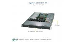 """Серверная платформа Supermicro SYS-5019C-WR 1U LGA1151 iC246, 4xDDR4 ECC, 4x3.5"""""""" bays, 2x1GbE, IPMI 2x500W"""