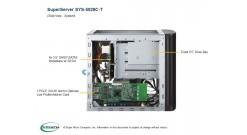Серверная платформа Supermicro SYS-5029C-T MiniTower LGA1151 C242 / Xeon E-2100 ..