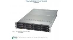 "Серверная платформа Supermicro SYS-6028TP-HC1R-SIOM 2U (4 Nodes) 2xLGA2011 Up to 2TB LRDIMM, 3 Hot-swap 3.5"""" SAS/SATA HDD, Broadcom 3108 SAS3 RAID 0,1,5,10, SATA DOM 2x2000W"