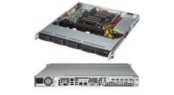 "Корпус Supermicro CSE-113MFAC2-605CB 1U, 8x 2.5"""" hot-swap, 600W, ATX"