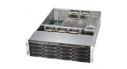 "Корпус Supermicro CSE-836BE1C-R1K03 3U, 16x3.5"""" Hot-swap SAS / SATA, 1000W RPS"