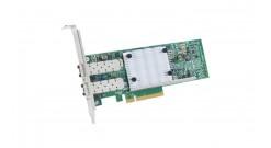 Сетевая карта Qlogic Ethernet 10GbE CNA dual port QLE8442-CU, PCIe 3.0 x8, 2xSFP+, LP