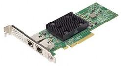 Сетевой адаптер Lenovo ThinkSystem Broadcom NX-E PCIe 10Gb 2-Port Base-T Etherne..