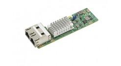 Сетевой адаптер Supermicro AOC-CTGS-I2T-O MicroLP 2-port 10G RJ45, Intel X550-AT..