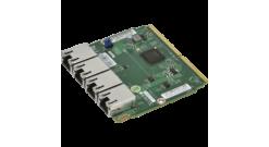 Сетевой адаптер Supermicro AOC-MGP-I4-O - Quad Port 1GbE RJ45 (Intel® i350) SIOM..