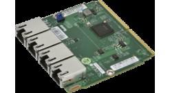 Сетевой адаптер Supermicro AOC-MGP-i4M-O - Ethernet 1GbE NIC quad port (Intel i3..