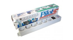 Сетевой фильтр Pilot S (3 метра) 6 розеток 5 евро..