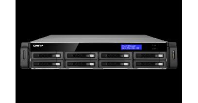 Система хранения Qnap TS-EC879U-RP 8 slots for HDD rackmount Intel Xeon E3-1225 3.1