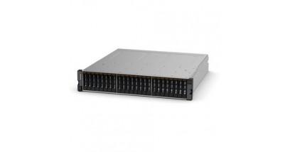 "Дисковое хранилище IBM Storwize V3700 SFF Dual Control Enclosure 2U (up to 24x2.5"""" SAS HDD, 4xISCSI 1GbE, 2xExp slot, 2x4GB cache, Dual 6Gb miniSAS port for Expansion Enclosure, 2xPower, Fan)"