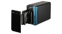 Система хранения Qnap TS-253B-8G, 2 отсека для HDD, 2*HDMI, 2*GLAN, 5*USB3.0