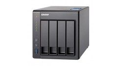 Система хранения Qnap TS-431X-8G Alpine AL-212 Dual-core 1.7GHz Drives/bays 4, 3x USB 3.0, SFP+, 2xRJ45, 8 Гб DDR3