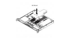 Система охлаждения Supermicro MCP-310-00027-01 Air Shroud