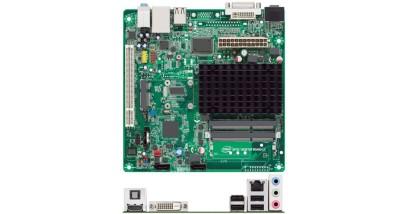 Материнская плата D2700DC Intel AtomD2700 NM10 DDR3 mini-ITX SATA Audio+Lan+VGA+DVI-D+HDMI