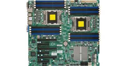 Материнская плата Supermicro MBD-X9DR3-F-O,Intel S2011 2xLGA2011, C606 E-ATX 12''x13'', 8xSAS